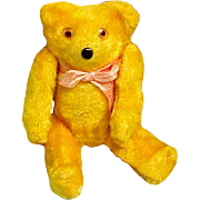 """Tiny Bear (From """"Bear School Toy)  Glass Eyes.  For Dolls, too!"""