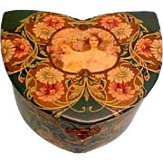 Lovely Antique CELLULOID Box For Presentation or Otherwise...