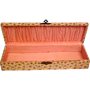 Celluloid Box - Antique With Beautiful Interior