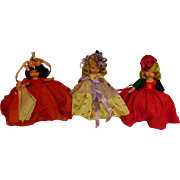Three Nancy Ann Storybook Dolls
