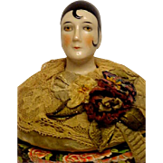 Beautiful German Antique 1/2 Doll - Red Tag Sale Item