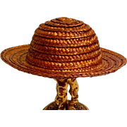 Straw Hat From Composition Doll