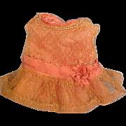 Antique Silk & Net Mignonette Dress