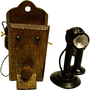Two Vintage Telephones - Small