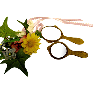 Two Small Mirrors For Dolls