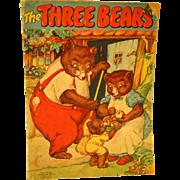 1941 Three Bears Book - Whitman