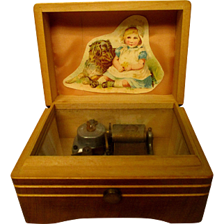 Small Music Box For Your Dolls
