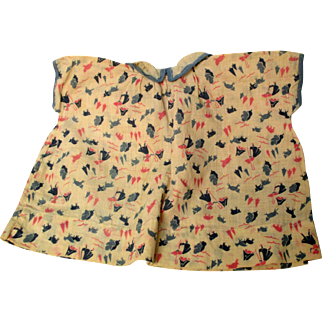 """1930's """"Bo Peep"""" Print Dress For Your Doll"""