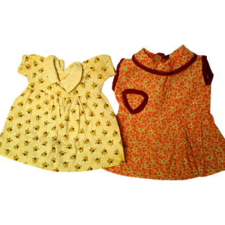 1930's or 40's Dresses for your Dolls