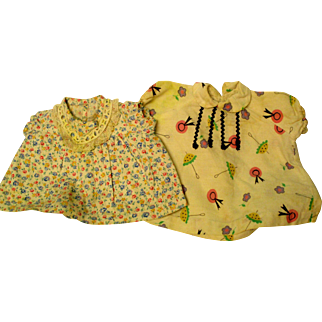 1930's or 40's Dresses For Your Doll