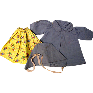 1930's and 40's Dresses For Your Doll