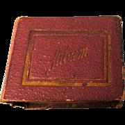 Antique Album Came With Biedermeier Furniture Listed