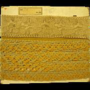 Antique Lace Still On Original Board