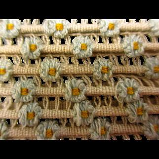 Vintage Tiny Flower Trim