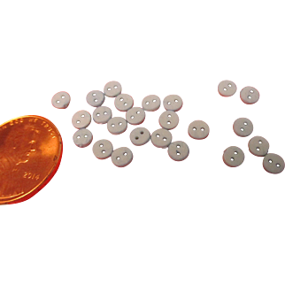 Very Tiny Buttons For Mignonette Dolls