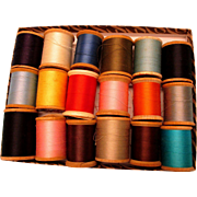 Wooden Spools Thread - LARGE Size - Doll Clothes