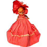 """All Bisque Doll Wearing """"Pocket Dress"""""""