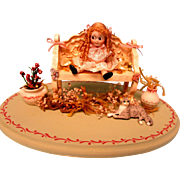 Artist Googly Doll - Pretty Scene