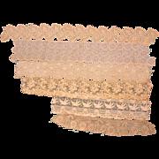 Wide Antique Lace  Several Pieces