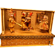 Excellent!   Musical Dancing Dolls - German - Ca. 1890