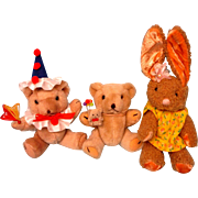 Fuzzy Little Bears For Your Dolls