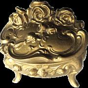 Art Nouveau Jewelry Casket Box