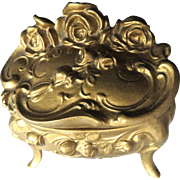 Art Nouveau Jewelry Casket Box