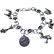 "Deco German ""I Bring Luck"" 835 Lucky Charm Bracelet"