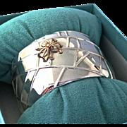 Tiffany & Co. Spider Bracelet 18K Spider Sterling Cuff