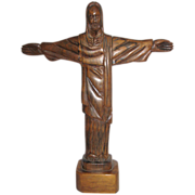 Large Christ the Redeemer Carving