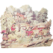 Large Pop-Up Christmas Card
