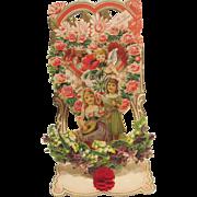 Victorian Pop-up Valentine Card
