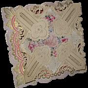 Victorian Valentine Pop-up Card