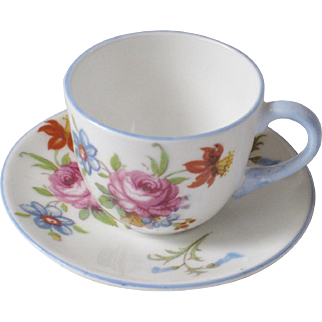 Shelly Miniature Cup & Saucer