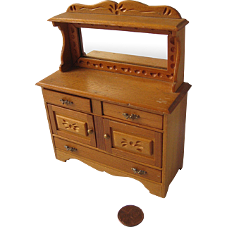 Miniature Handcrafted Hutch