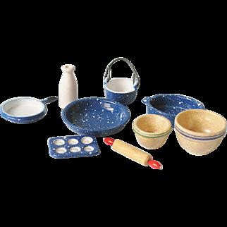 Miniature Baking Set