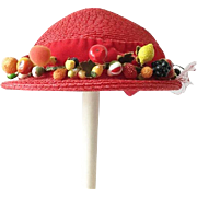 Children's Hat with Fruit