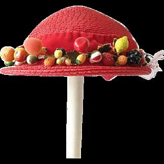 Children's Hat with Fruit