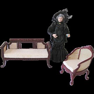 Caned Dollhouse Miniatures