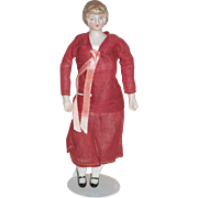 "All Original 6"" German Bisque Woman"