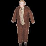 "German 6.5"" Gentleman Doll"