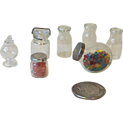 Miniature Glass Jars