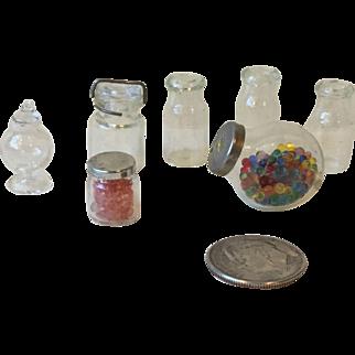 Miniature Glass Jars