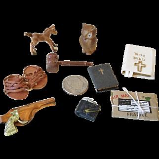 Miniature Desk Items