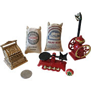 Miniature Country Store Items