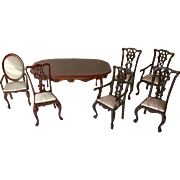 Miniature Dining Room Table & Chairs Bespaq