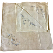 Handkerchief Pair in Original Presentation