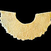 Victorian Lace Collar Flounce