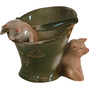 Pink Pigs German Fairing Niagara Falls, NY Souvenir
