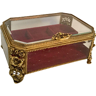 Huge Matson Ormolu Jewelry Casket